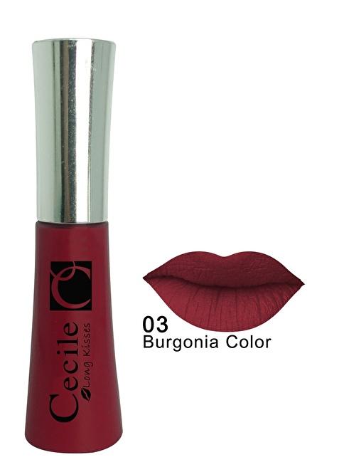 Cecile Long Kisses Lipgloss 06 Bordo
